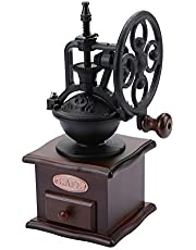 Manual Handle Coffee Bean Grinder Manual Mill Hand Grinder Retro Ferris Wheel Home Grinding Machine