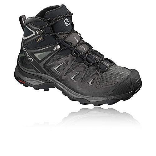 Femme Chaussures GTX Randonnée X Mid W 3 Ultra Salomon Black 8wHOqSUn