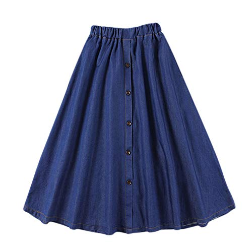 74bbf8cf6b5e8c SODIAL Fashion feminine coreenne solide taille elastique Une ligne ...