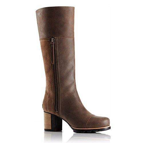 Sorel Addington Tall Boot - Women's Umber / Black 9