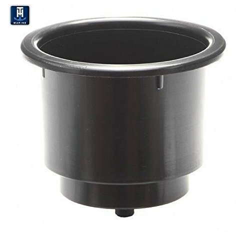 TH Marine Large Cup Holder Cup Holder, Black (Th Marine Cup Holder)