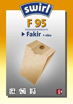 6 Staubsaugerbeutel für Fakir Nilco S 10 electronic Staubbeutel S10