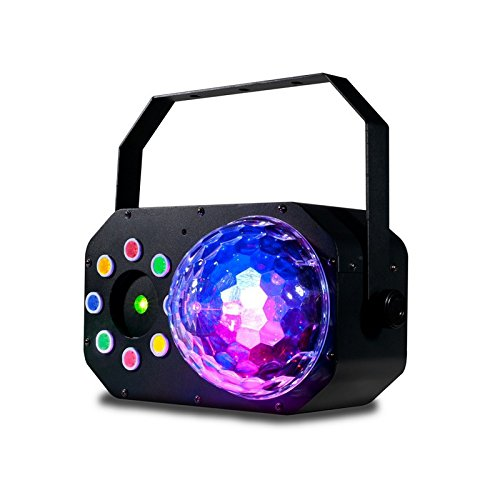 American DJ STINGER STAR | 3 In 1 LED Laser Lighting Effects ()