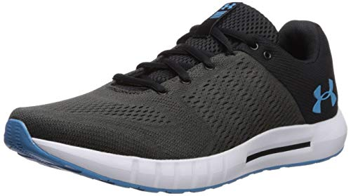 Under Armour Men's Micro G Pursuit Running Shoe, Academy Blue (402)/Black, 9.5 by Under Armour (Image #1)