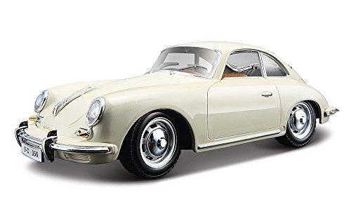 1961 Porsche 356 B Coupe Ivory 1:24 Diecast Model Car
