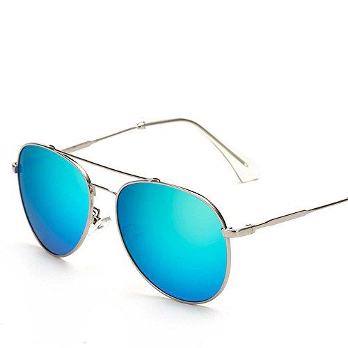 Chahua Dans lrétro classique dans les lunettes fashion lunettes de soleil Lunettes de soleil en métal, b