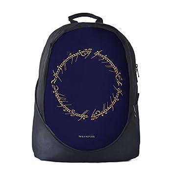 a86718fe630b LOTR  Ring Inscription(Black) 30L School Bag I Laptop I Casual Backpack for  Men