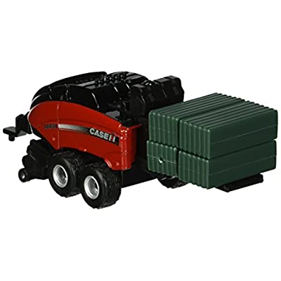 Ertl Case IH Big Square Baler Vehicle (1:64 Scale): Toys & Games