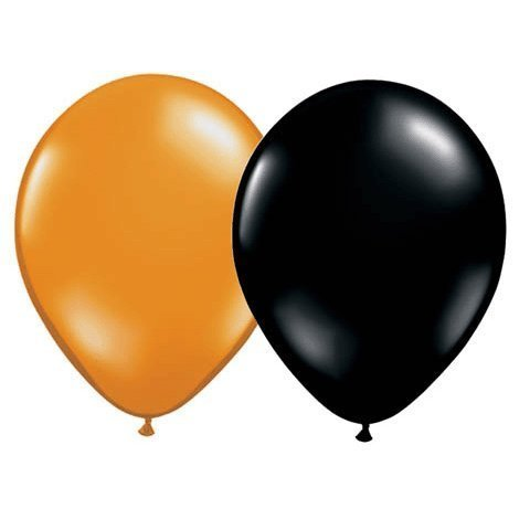 11 Halloween by Assortment Balloons (100 ct) by Halloween Qualatex 360db1