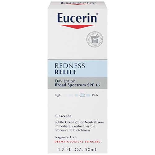 Eucerin Redness Relief Daily Perfecting Lotion SPF 15 1.70 oz (Pack of 2)