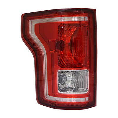 (New Left Driver Side Tail Light Assembly For 2015-2017 Ford F-150 Bulb Type Without Led [Fo] FO2800239)