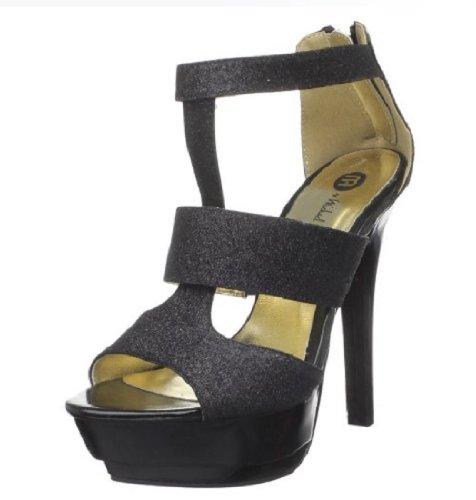 - Michael Antonio Women's Ratio Platform Sandal,Black,7.5 M US