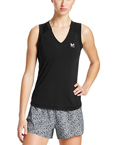 Mission Women's VaporActive Conductor Tank Top, Moonless Night, (Dance V-neck Jersey)