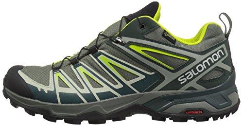 Salomon Castor Gtx gris Chaussures D'escalade Fonc Epica Hommes Ultra Le X 000 3 Lim Gris Plus Acid ffrq4z