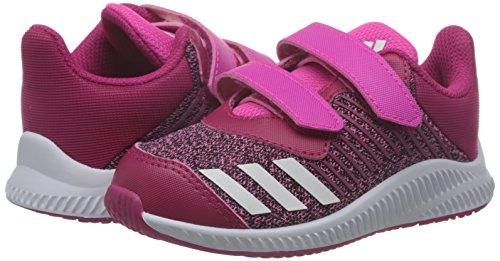 adidas FortaRun CF I - Zapatillas de deportepara niños, Rosa - (ROSIMP/FTWBLA/ROSFUE), -25
