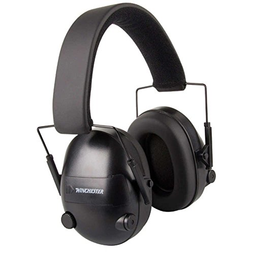 WINCHESTER ELECTRONIC EARMUFFS - 25DB, BLACK WIN99779