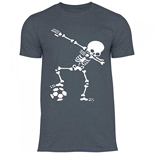 Royal Men's Dabbing Shirt shirt Dark Df1 Football Heather Dub Costume T Halloween Skeleton rZrwqS