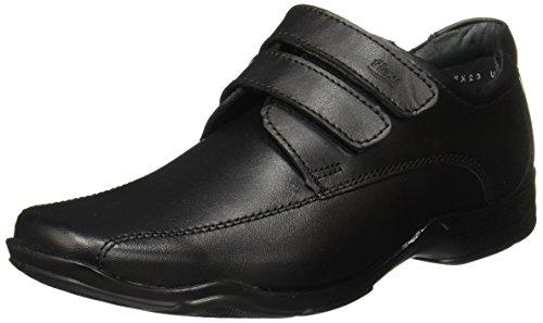 Flexi BANFI JR 93512 Zapatos de Cordones Brogue para Niños, Negro, 23 M Mexico