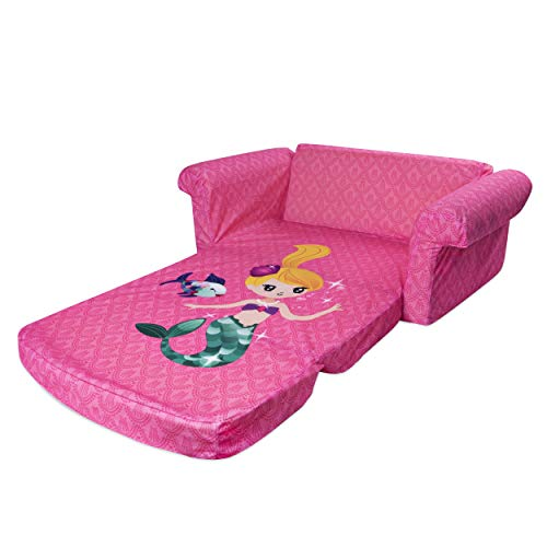 Flip Out Foam Sofa Nz: Children's 2 In 1 Mermaid Flip
