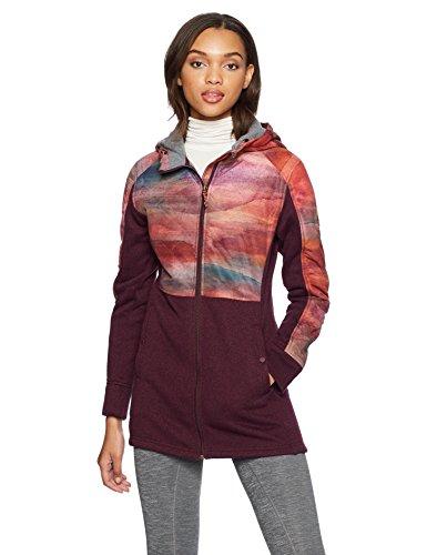 Burton Women's Embry Fleece Sweater, Starling Heather, Medium -