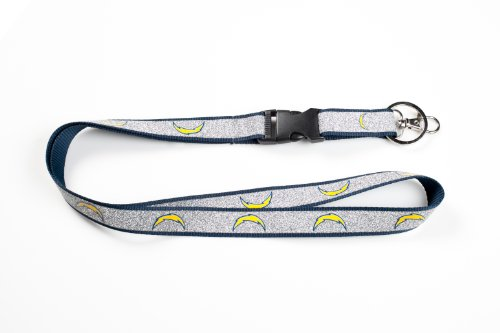 NFL Los Angeles Chargers Sparkle Lanyard, Blue
