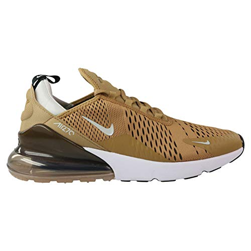 Nike Air Max 270 Mens Running Trainers AH8050 Sneakers Shoes (UK 8 US 9 EU 42.5, Elemental Gold Black 700)