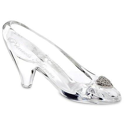 856573f7b10f3 Amazon.com  Cinderella Glass Slipper by Arribas - Medium - Personalizable   Home   Kitchen
