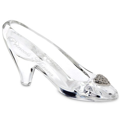 Cinderella Glass Slipper by Arribas - Medium - Personalizable (Cinderella Arribas Brothers compare prices)