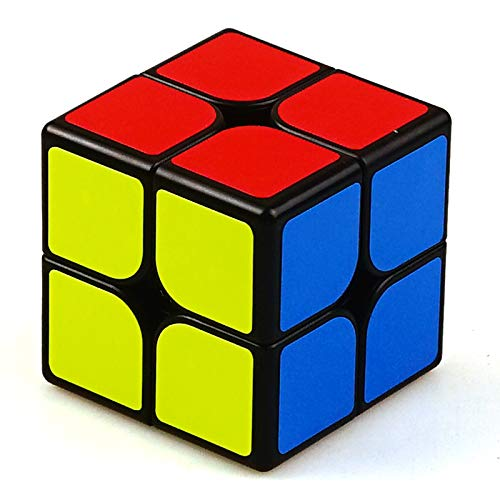 Beyong 2x2 Magnetic Speed Cube 2x2x2 Sticker Puzzle Black (Mr.M Edition)