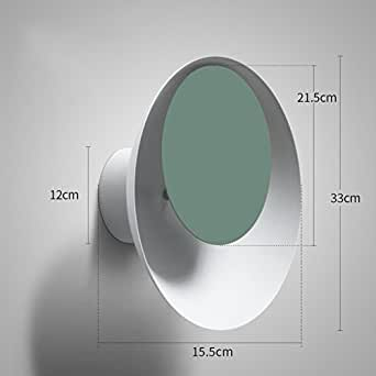 Wall sconce lamp Led,Color Macaron Eclipse Wall lamp Nordic Living room Hallway Bedroom Nightstand-O 16x33cm(6x13inch)