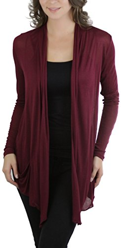ToBeInStyle Womens Long Sleeve Cardigan
