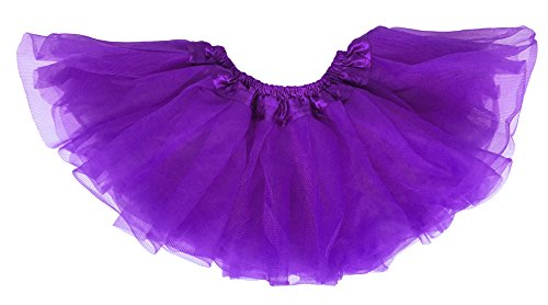 Mardi Gras Outfits For Toddlers (Dancina Tutu for Baby Girl Dress up Skirt 6-24 Months)