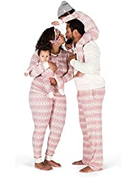 Family Jammies, Fair Isle Ivory, Holiday Matching...
