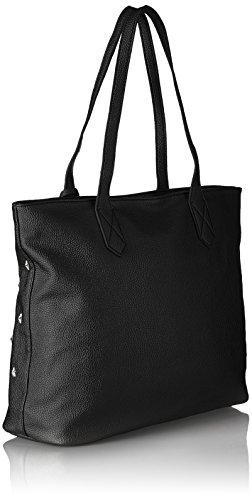 G1701 hombro Negro Shoppers Mujer bolsos LYDC Black de y dXqxn0