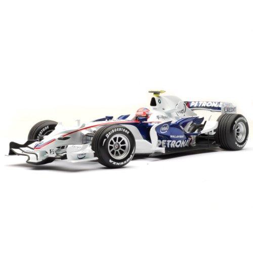 1/18 BMW ザウバー F1.08 R.クビサ 2008 #4(ホワイト×メタリックブルー) 100 080004