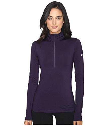 - Nike Women's Pro Warm Half-Zip Long-Sleeved Shirt