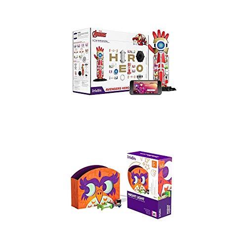 littleBits Marvel Avengers Hero Inventor Kit & littleBits Hall of Fame Night Light Starter Kit