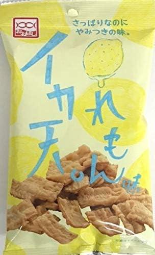 [スポンサー プロダクト]大橋珍味堂 いか天レモン 20g×10個 食べきりサイズ