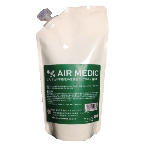 AIR MEDIC(에어 메디 구 )전용액10배 농축 300mL / 0804-NP0302 수풀의 향기 1개