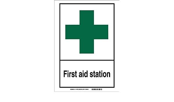 Brady 120700 primeros auxilios señal de estación ...