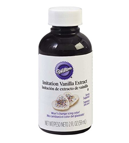 Wilton W6042237 Imitation Clear Vanilla Extract, 2-Ounce