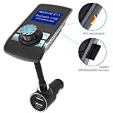 YCRD Car Fm Transmitter Usb Charger Car Bluetooth Hands-Free Calling Mp3 Player Support Tf Card Function