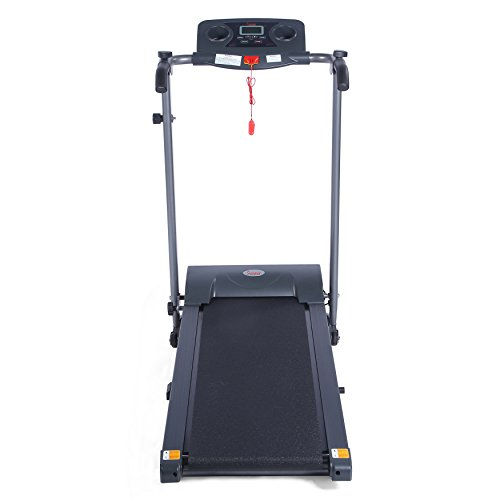Sunny Health & Fitness T7613 Easy Assembly Motorized Folding Treadmill