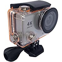 4K Full UItra HD WIFI Remote Control 2'' Display Screen Waterproof Diving Sports Action Camera MDV2100 pro(silver)