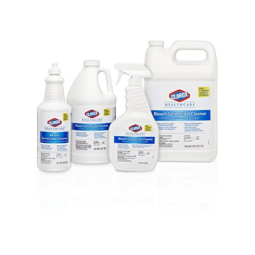 Clorox Healthcare Bleach Germicidal Cleaner Spray, 32 Ounces (For Healthcare Use) by Clorox (Image #4)
