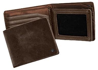 Nixon Men's Pass 3 in 1 Wallet Brown One Size Nixon-Men' s model