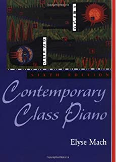 Contemporary class piano 7th seventh edition spiral binding contemporary class piano fandeluxe Gallery