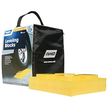 Camco 44505 Leveling Blocks - 10 pack