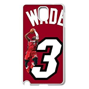 C-EUR Customized Print Dwyane Wade Hard Skin Case Compatible For Samsung Galaxy Note 3 N9000