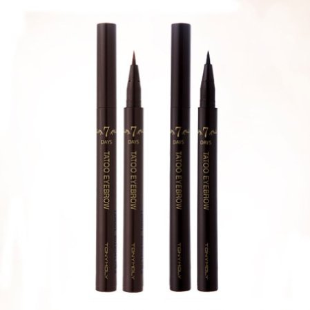 Korean Cosmetic Tonymoly 7days Long Last Liquid Easy Self Eyebrow Pen (02 Dark Brown)